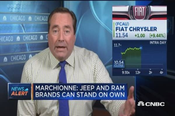 Fiat CEO: Jeep and Ram brands can stand on own