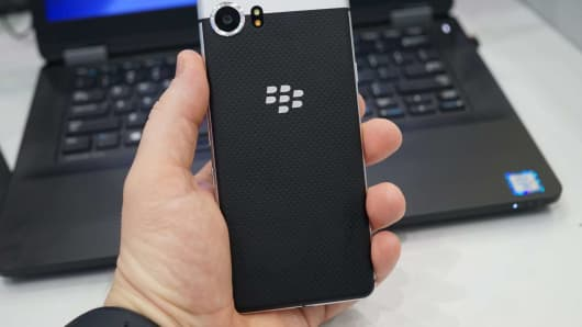 CNBC: BlackBerry KeyOne 12