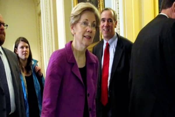 Elizabeth Warren says the system is more rigged than people think