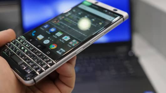 CNBC: BlackBerry KeyOne 15