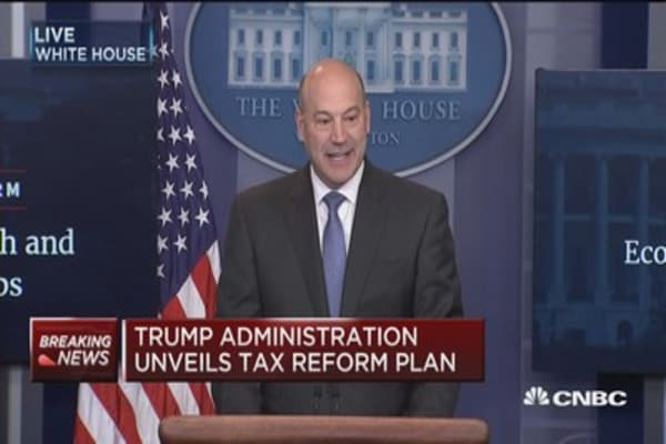 Cohn: Congress wants to get tax reform done