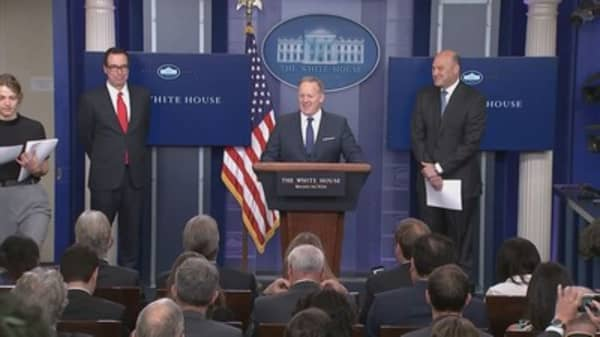 The White House just outlined its tax plan. Here's what's in it