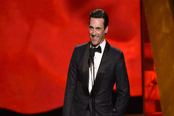 Here's why Jon Hamm doesn't see money the same way his Mad Men character does