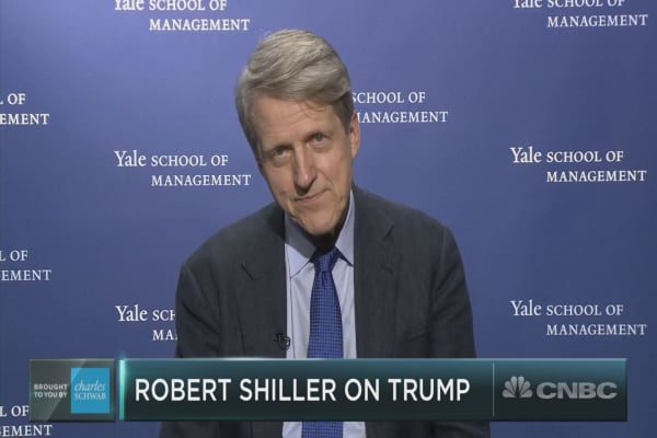 Robert Shiller on valuations