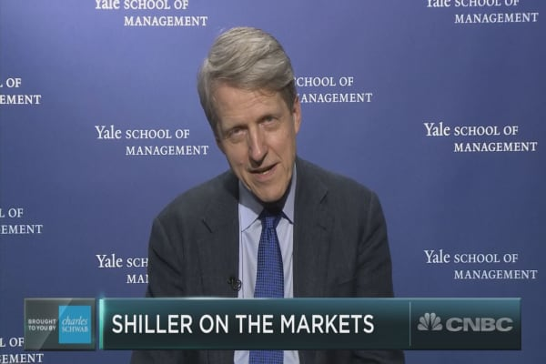 Robert Shiller makes the case for diversification