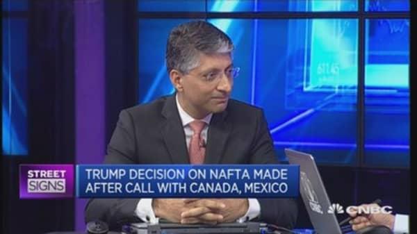 Beginning of NAFTA renegotiation?