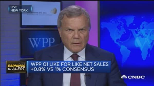 Overall a difficult business environment: WPP CEO
