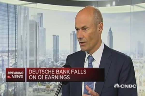 Deutsche Bank CFO: In discussions with UK and the EU