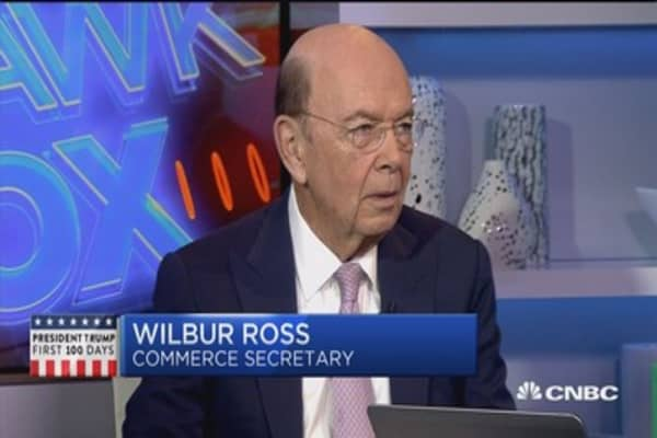 Wilbur Ross: Canada and Mexico 'agreeable' to negoitiating
