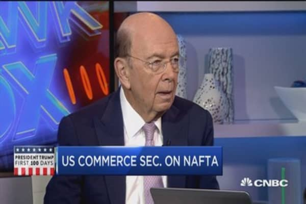 Commerce Secretary Wilbur Ross talks trade, Trump and taxes