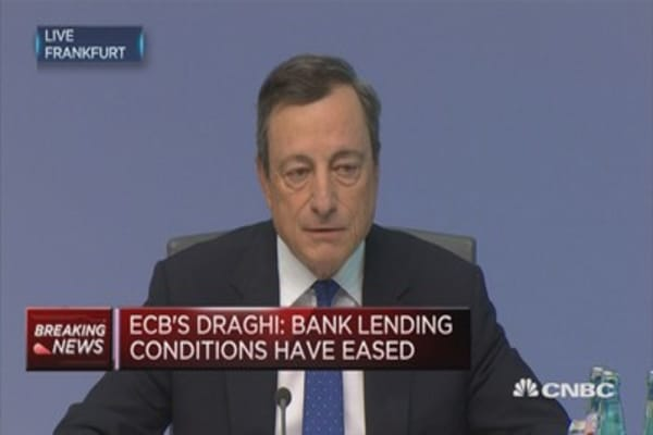 ECB President: Downside risks diminished