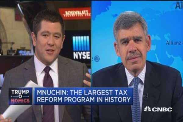 El-Erian: To sustain market move needs tax details and implementation