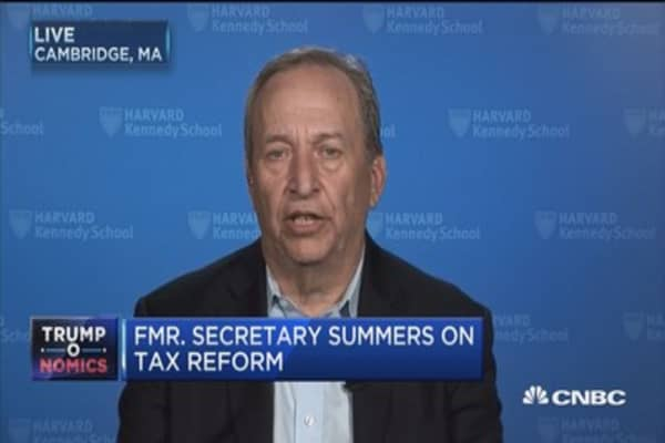 Fmr. Secretary Summers on tax reform: 'Demonstrably false' regarded by experts as 'absurd'