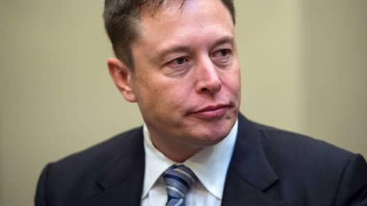 Elon Musk, CEO of Tesla.