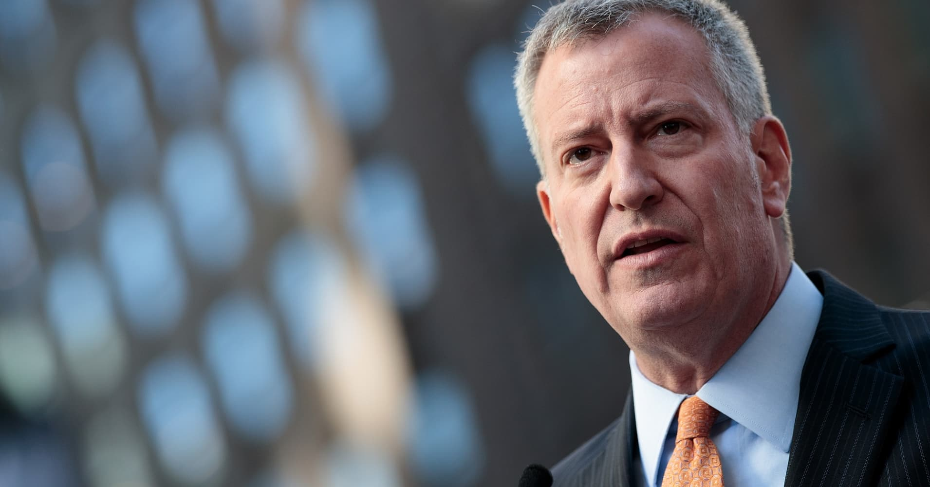 New York City Mayor Bill de Blasio - legislation passed