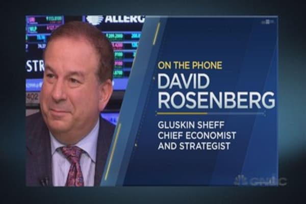 David Rosenberg on the economic outlook