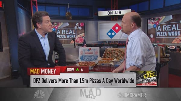 Domino's Pizza CEO says Trump tax cuts would help business, 'no question'