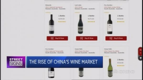 Selling wine online in China