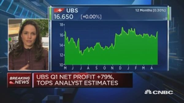 UBS CEO understandable cautious on political risk, seasonality over earnings