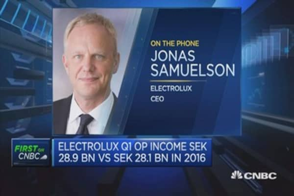 Electrolux CEO: Extremely competitive industry