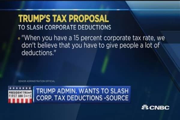 Trump's tax plan math