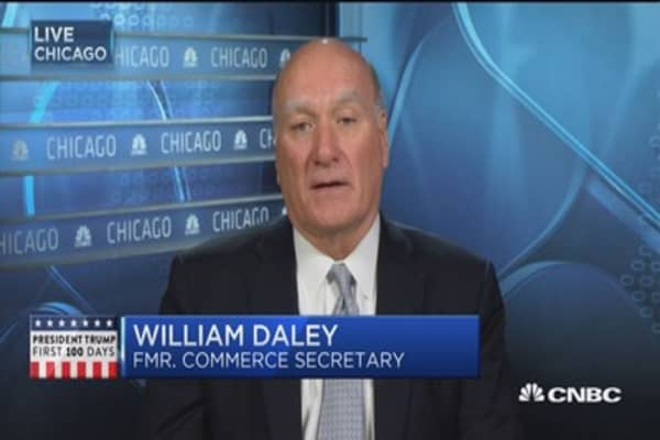 Consequences of aggressive trade talk: Daley