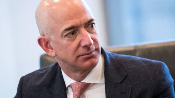 Jeff Bezos, chief executive officer of Amazon