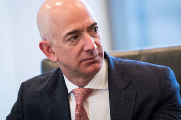Jeff Bezos, chief executive officer of Amazon