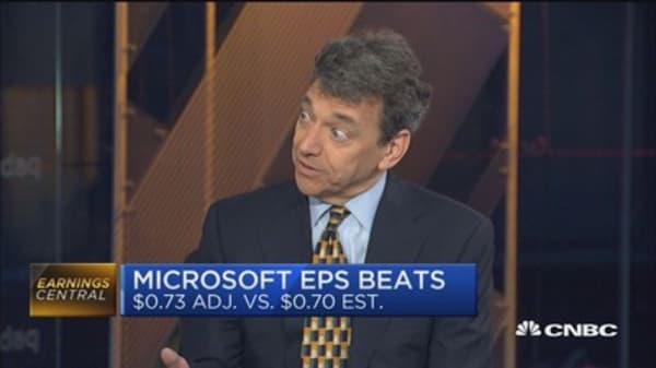 Microsoft growth driven by cloud: Pro