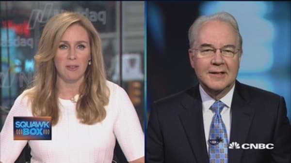 HHS Secretary Price: Obamacare not working for patients