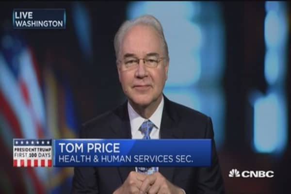 HHS Secretary Tom Price on health care reform