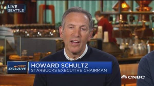 Teavana will suffer as mall traffic consolidates: Howard Schultz