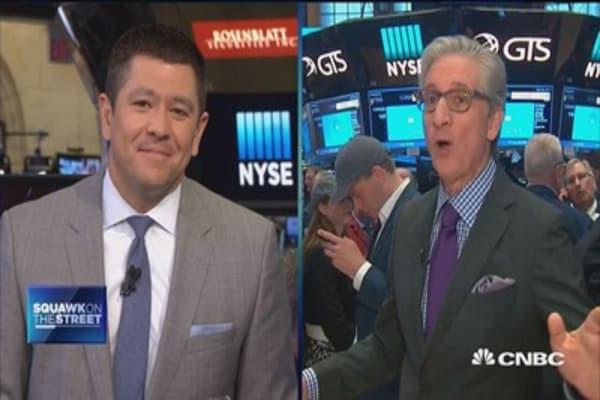 Earnings big market story