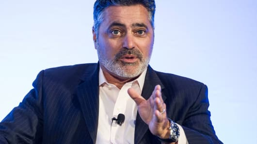 Tom Reilly, chief executive officer of Cloudera Inc.