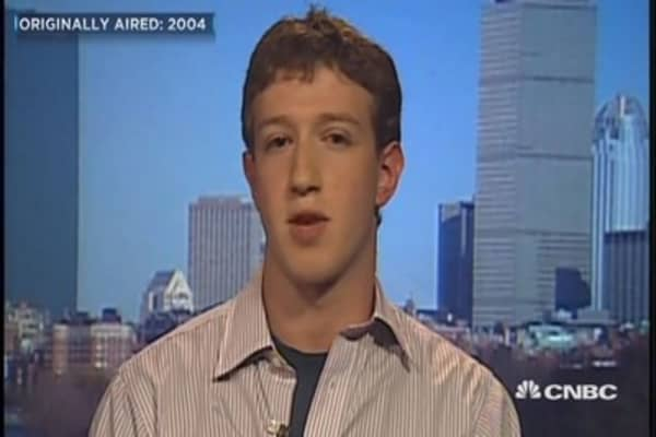 Here's Mark Zuckerberg's first-ever TV interview from 13 years ago today