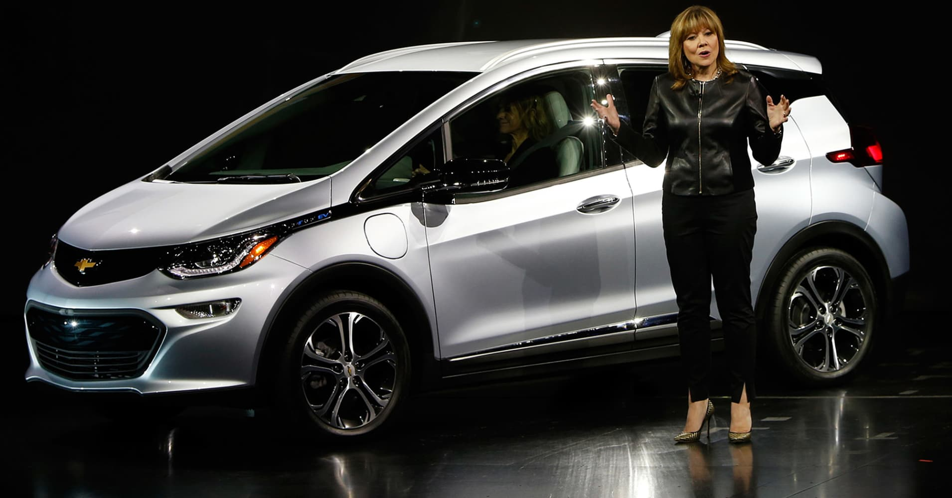 Gm is increasing chevy bolt production ceo mary barra for General motors near me