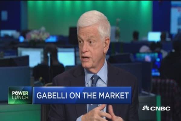 Gabelli: Market has no margin of safety, but it's okay