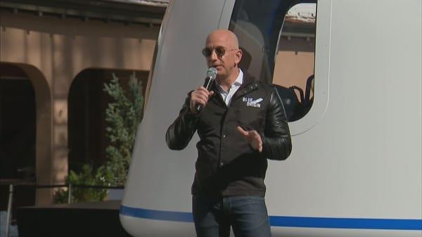 Bezos is within striking distance of Microsoft's Bill Gates