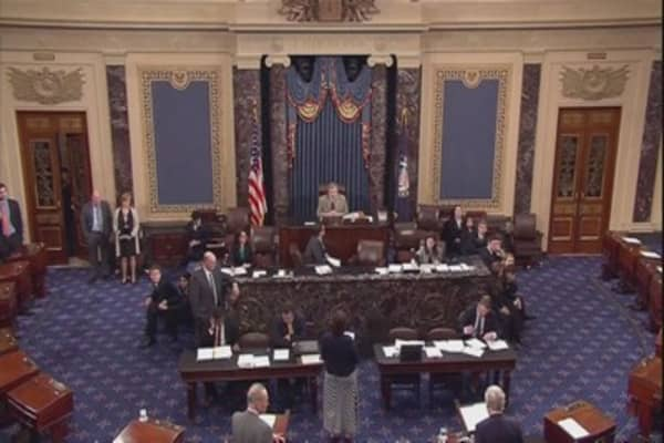 Government averts shutdown, for now