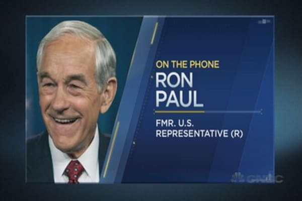 Ron Paul on the Fed, stocks and gold
