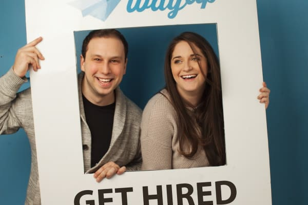 WayUp co-founders JJ Fliegelman and Liz Wessel