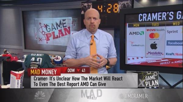 Cramer's game plan: An earnings bonanza brings many chances to buy