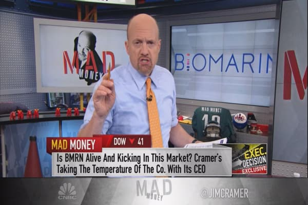 BioMarin CEO says 'the system will have to determine' the worth of its new $486,000 drug