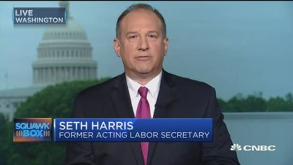 Expect 200K jobs in April: Seth Harris