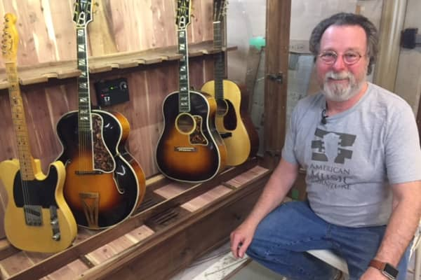 Darrell Jennings, 63, started his business, American Music Furniture Company, in 2013. The baby boomer is joining a growing cohort of older entrepreneurs in America, opting to continue working instead of retiring.