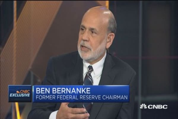 Ben Bernanke: Border tax interesting, but tough sell politically