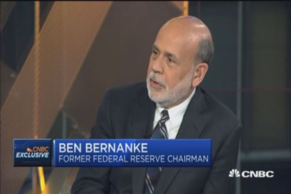 Ben Bernanke: GDP leaves a lot of numbers out