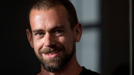 Jack Dorsey, co-founder and chief executive officer of Twitter Inc.,
