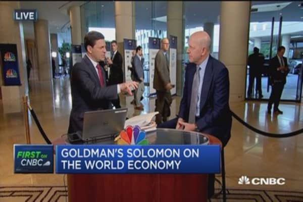 Goldman president and co-COO: People are more cautious on Trump's agenda