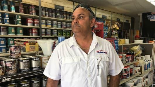 Juan Carlos Enriquez, owner of a Miami paint business, sued Donald Trump and won.